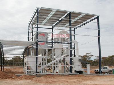 high-pressure raymond roller mill