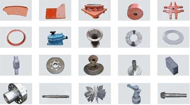 Barite Raymond Mill Parts