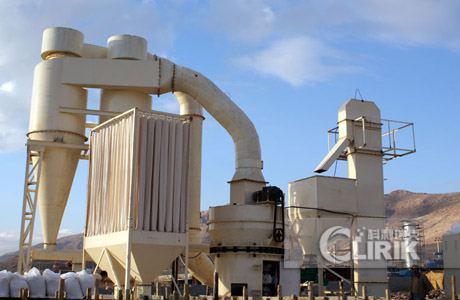 High Pressure Suspension Raymond Grinding Mill