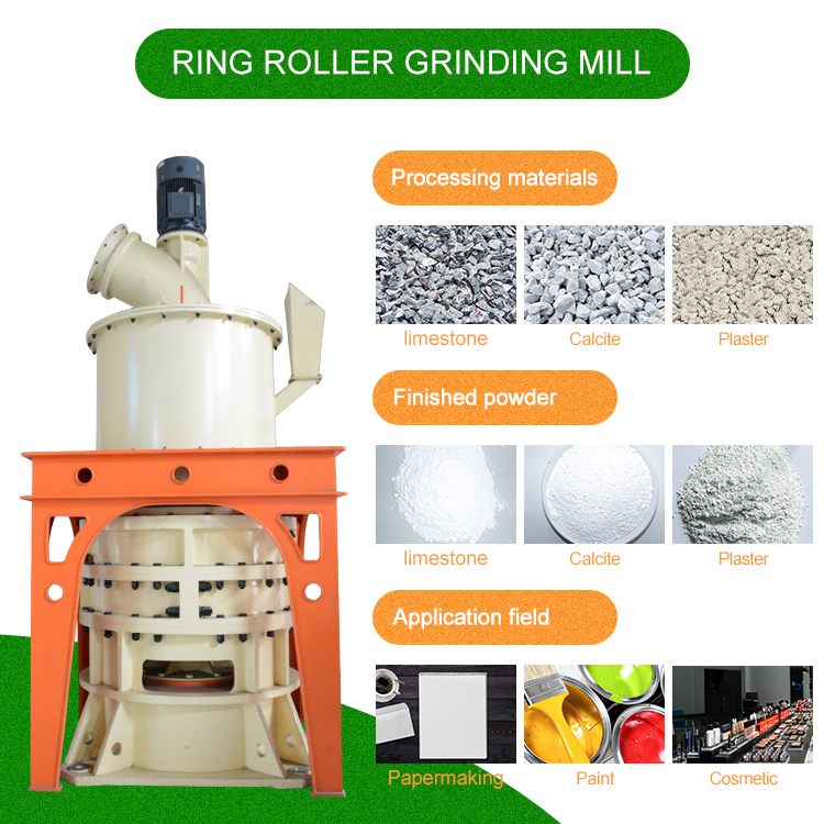21 Roller Grinding Mill For CaCO3